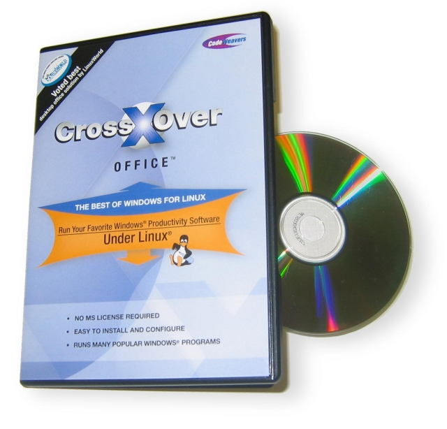 ImageCrossOver Linux::Run your windows software on linux CrossOver_Office